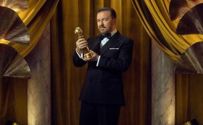 Złote Globy 2020. Ricky Gervais gospodarzem wieczoru po raz piąty
