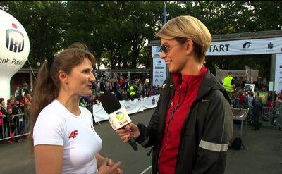 Renata Mauer: wrocławianie kochają bieganie