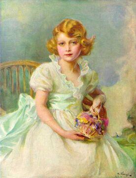 Portret autorstwa Philipa de László, 1933