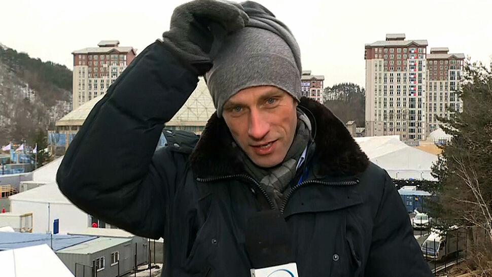 Jak zimno jest w Pjongczangu? Paweł Łukasik pokazuje