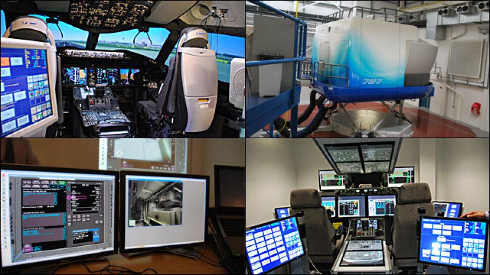 Dzień na szkoleniu pilota Dreamlinera. Papier to przeżytek, tylko komputery