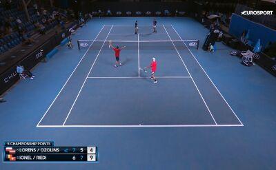 Lorens i Ozolins przegrali w finale debla juniorów w Australian Open