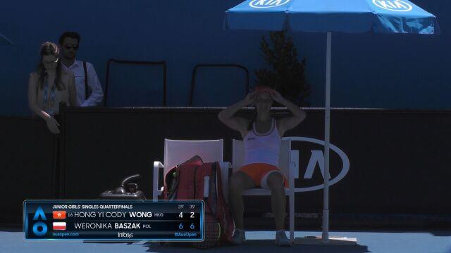 Baszak awansowała do półfinału rywalizacji juniorek w Australian Open