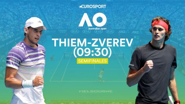 Thiem - Zverev gwoździem programu 12. dnia Australian Open. Plan transmisji