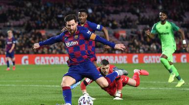 Kolejny popis i 500. triumf Messiego. Barcelona gromi w Pucharze Króla