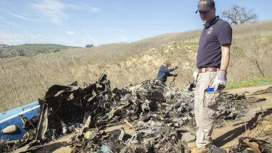 Upubliczniono amatorskie nagranie z miejsca katastrofy helikoptera, którym leciał Bryant