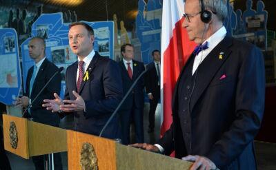 Całe wystąpienie prezydenta w Estonii