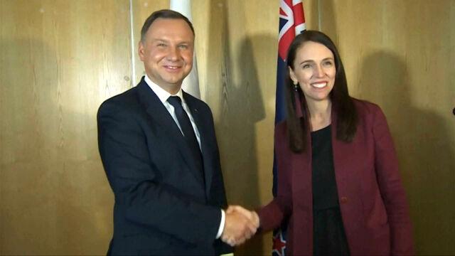 Prezydent Duda w Nowej Zelandii. Pytania o uchodźców i sądownictwo