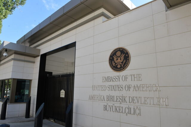 Turkey. The US Embassy was fired