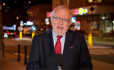 """Prof. Lewicki: nie ma mowy o żadnej stałej bazie. Fragment programu """"Polska i świat"""" TVN"""