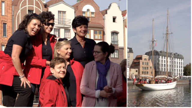 """""""To rejs, który daje siłę"""". 18 kobiet z chorobą nowotworową wypłynęło na Bałtyk"""