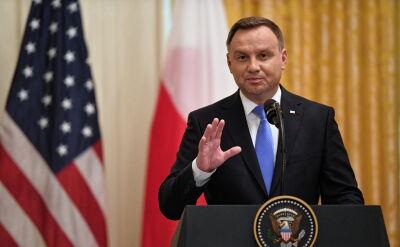 Duda: zapraszam pana prezydenta, żeby skierować do Polski więcej oddziałów amerykańskich