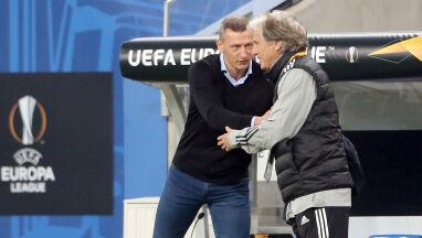 Dumny trener Lecha.