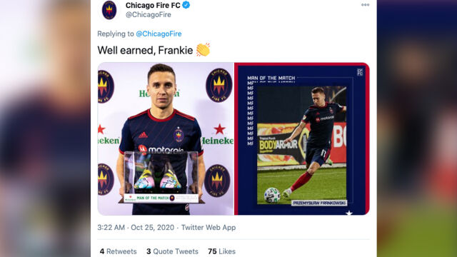 Gol i tytuł Zawodnika Meczu. Udany występ Frankowskiego w MLS
