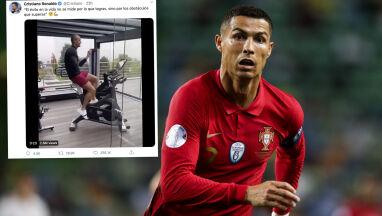 Chwycił za maszynkę, wskoczył na rower. Pracowita kwarantanna Ronaldo