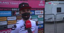 Hindley po ostatnim etapie Giro d'Italia