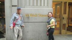 Razem z żoną Ryszard odwiedził już także Nowy Jork