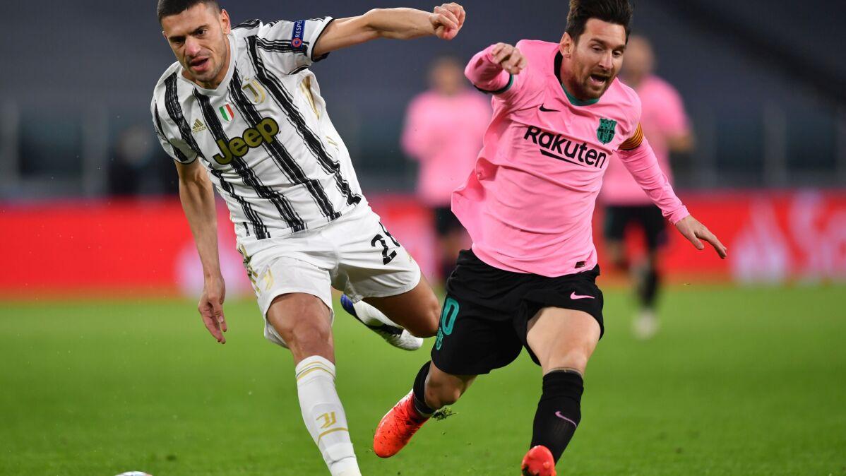 Trzy nieuznane bramki Juventusu. FC Barcelona z Turynu wraca z tarczą