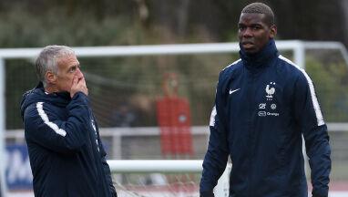 Pogba miał porzucić grę w kadrze przez prezydenta Francji.