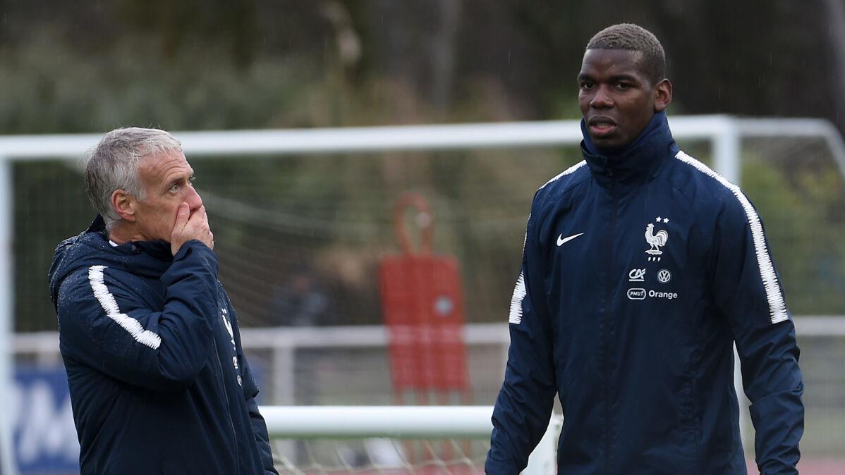 """Miał porzucić grę w kadrze przez prezydenta Francji. """"Nakręcają spiralę plotek"""""""