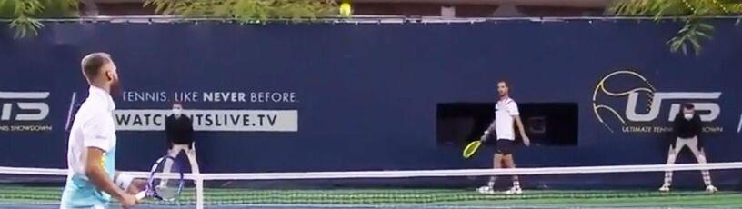 Magiczny moment w Nicei. Niesamowite zagranie francuskiego tenisisty