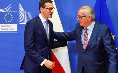 Rozmowy w Brukseli. Premier na spotkaniu z Junckerem