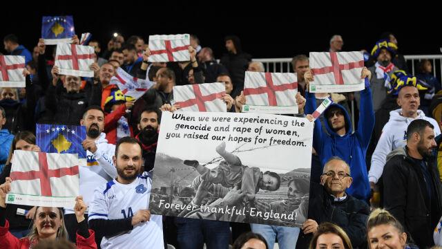 Piękne gesty na stadionie w Kosowie. Gospodarze pamiętali o 1999 roku