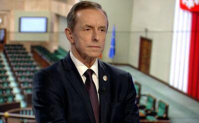 Grodzki: poprosiłem o trzy opinie prawne ws. tego co Senat może zrobić w sprawie Banasia