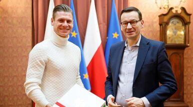Łukasz Piszczek ze specjalną wizytą u premiera
