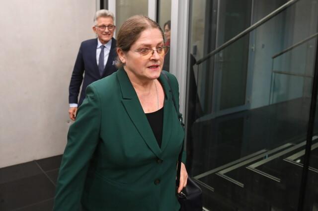 Krystyna Pawłowicz pytana przed komisją o
