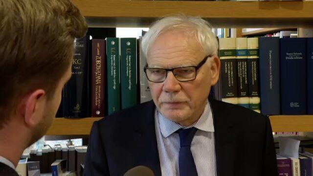 Prof. Marek Safjan: to bardzo ważne orzeczenie, które wpisuje się w całą linię orzeczniczą