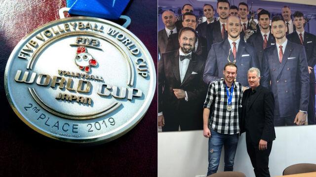 Poruszony Vital Heynan oddał kibicowi swój medal za Puchar Świata