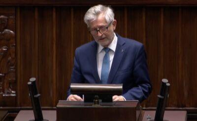 Witold Czarnecki z Prawa i Sprawiedliwości zapomniał nazwiska Jakuba Stelina