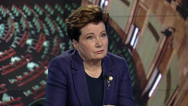 """Hanna Gronkiewicz-Waltz była gościem """"Faktów po Faktach"""""""