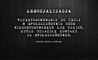 Przemoc rodzi przemoc. Resocjalizacja w polskich więzieniach