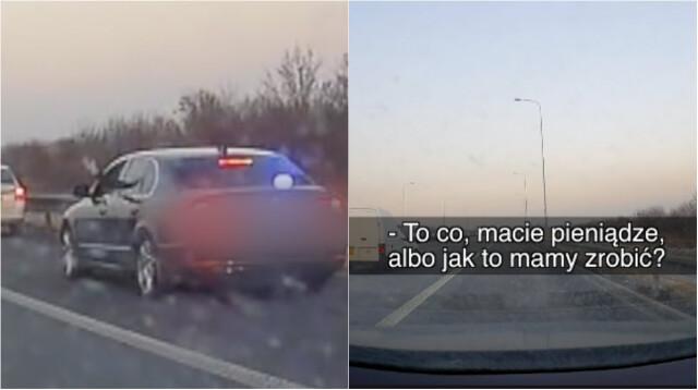 Czeski policjant podczas kontroli zapytał: pieniądze macie?