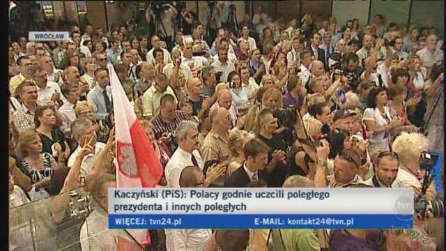 Kaczyński: rząd PO nie sprawdził się na żadnym polu (TVN24)
