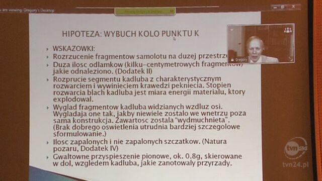 Szuladziński o hipotezie wybuchu podczas posiedzenia komisji Antoniego Macierewicza, 04.04.2012