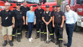 Księżniczna Wiktoria odwiedziła strażaków i wolontariuszy walczących z pożarami w Szwecji
