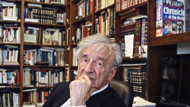 Antysemickie napisy na domu,  w którym urodził się Elie Wiesel