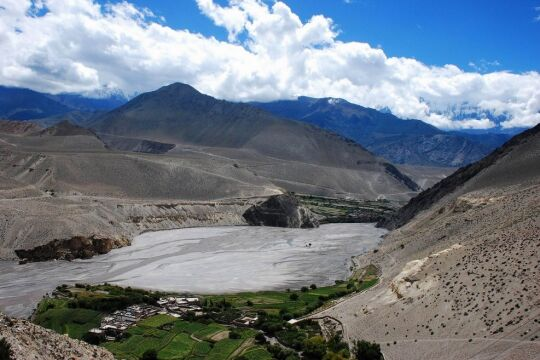 Nepal. Annapurna