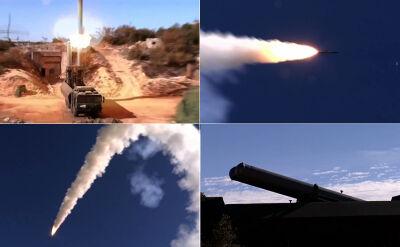 Rosyjski atak rakietami onyks w Syrii