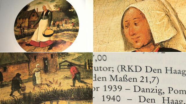 Na ziemię spadła rama, obrazu już w niej nie było. Trop prowadzi z Gdańska do Holandii