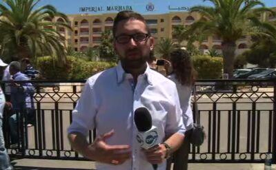 Specjalny wysłannik TVN24 przed zaatakowanym hotelem