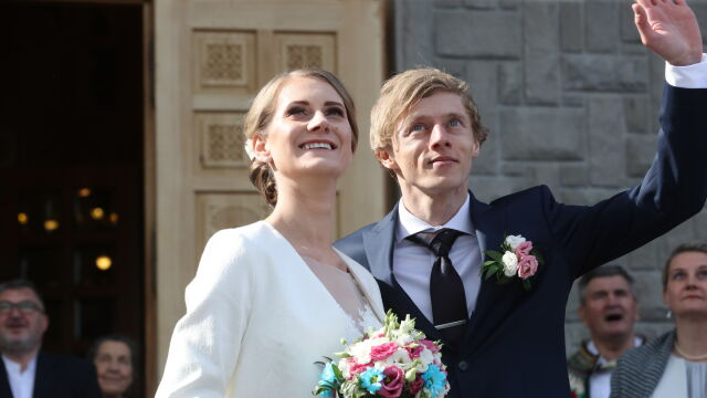 """Mistrz powiedział """"tak"""". Dawid Kubacki wziął ślub"""