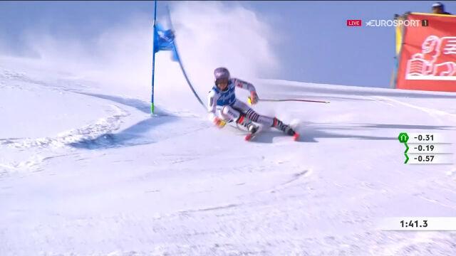 Worley wygrała slalom gigant w Kronplatz