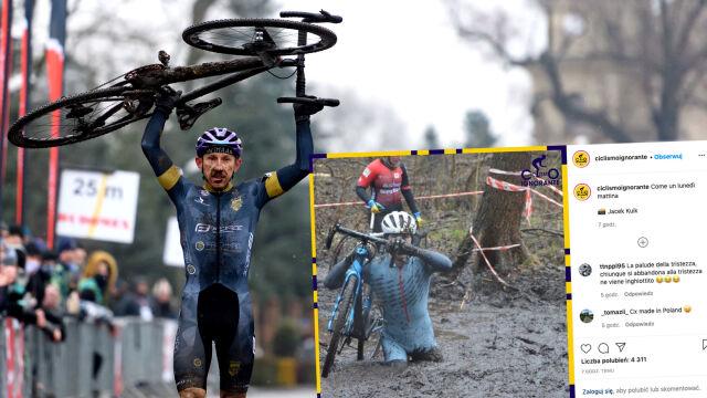 Po tytuły mistrzów Polski brnęli przez głębokie błoto