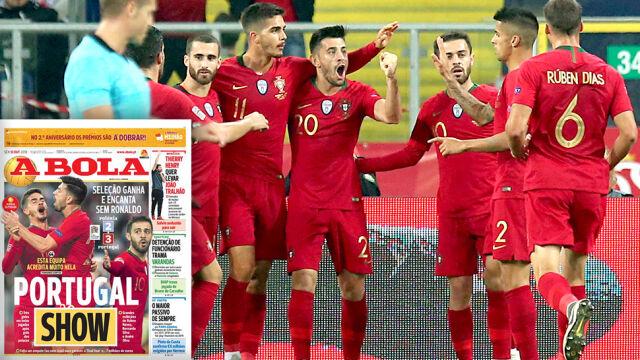 Portugalczycy po zwycięstwie: potrafimy wygrywać z trudnymi rywalami