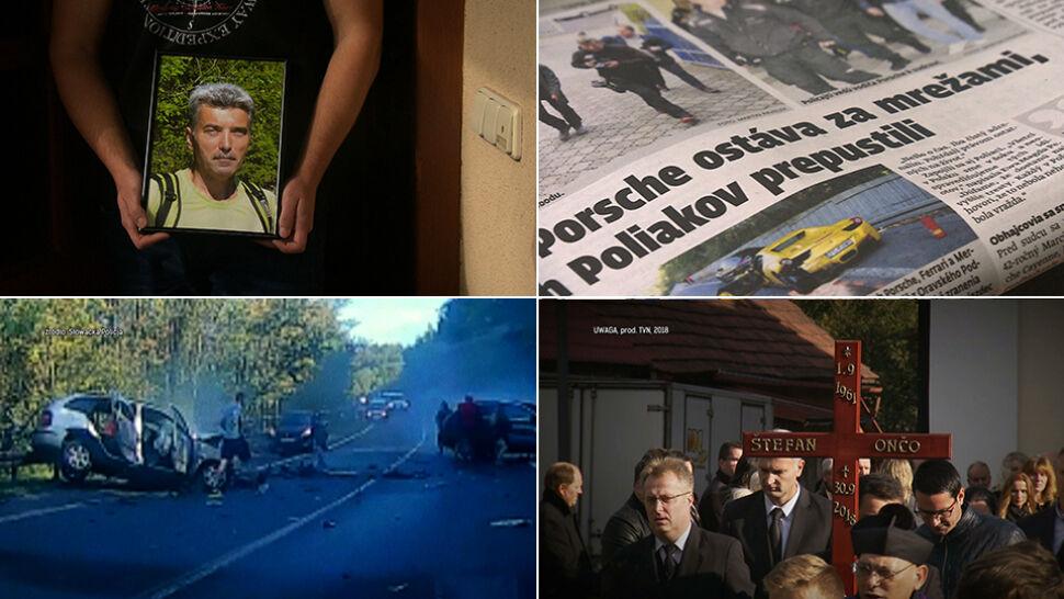 Relacja syna mężczyzny, który zginąłw wypadku spowodowanym przez Polaków