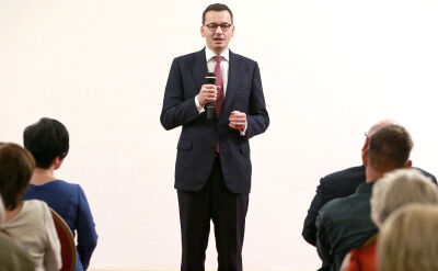 """""""Podpompowana"""". Morawiecki po raz pierwszy o rozmowie nagranej przez kelnerów"""